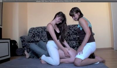 Polish sisters tickling endurance
